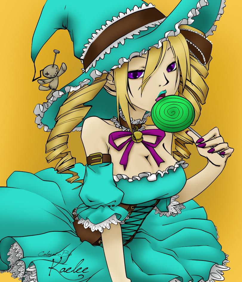 Minty Witch by ThatOneGirl369
