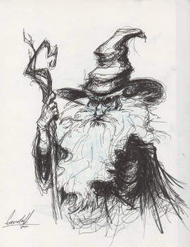Gandalf the Grey - Sketch