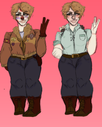 A ref I drew but I'm not using by oceanfox89