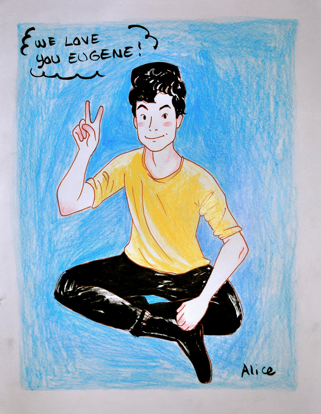 For Eugene Lee Yang from Buzzfeed by AdvAnCed fort on DeviantArt