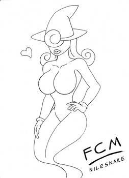 Sexy Vivian Sketch