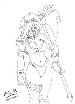 Staceytron, Heavenly warrior