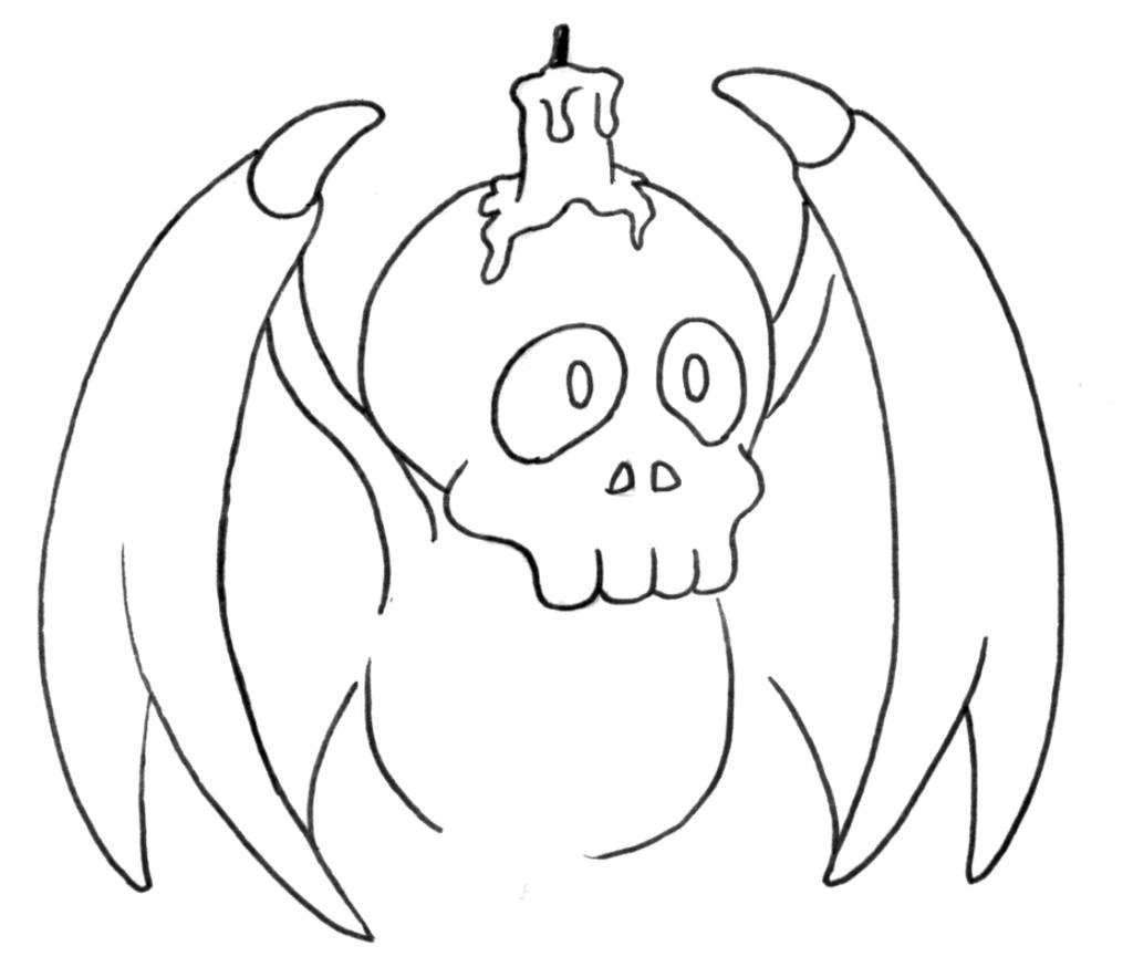 Skullo Bat by FCM-NileSnake