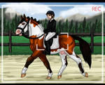 Pony Show - Dimitri - Dressage