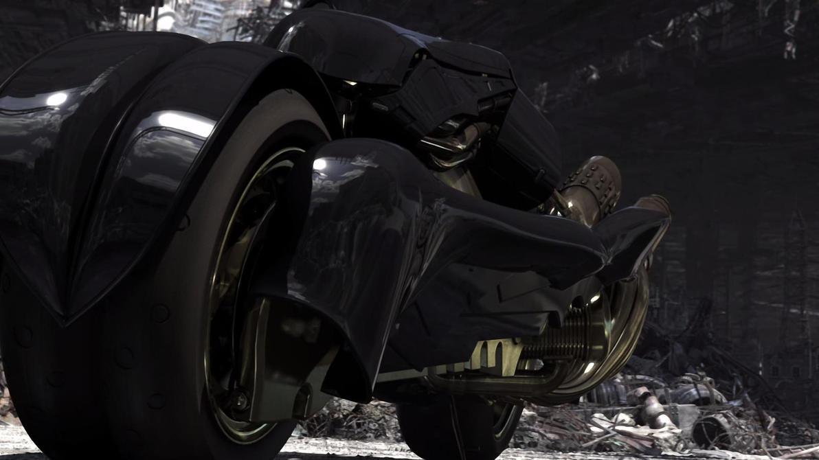 Fenrir, Cloud's Bike by blacksun128 on DeviantArt