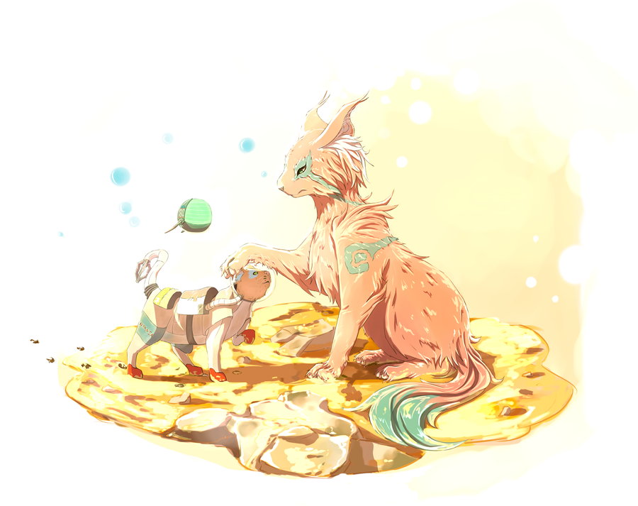 Cats on Mars by Hachijuu