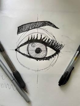 Eye Practice using a Tutorial
