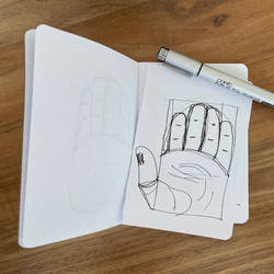 Learning to draw a hand