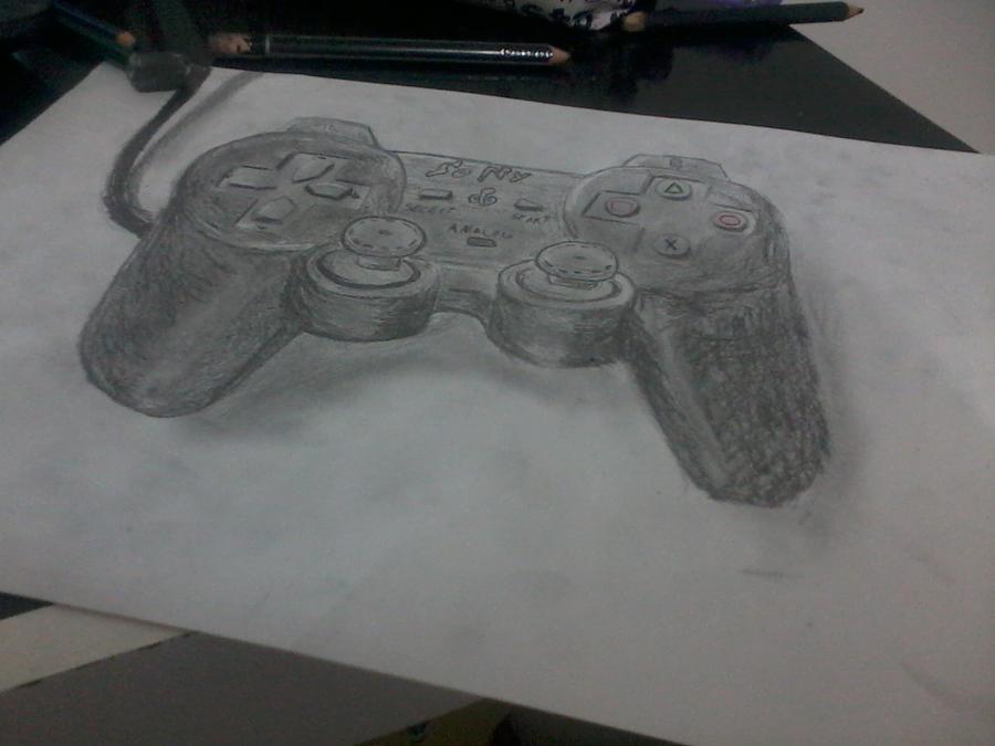 segundo  desenho em 3D by manolapotter