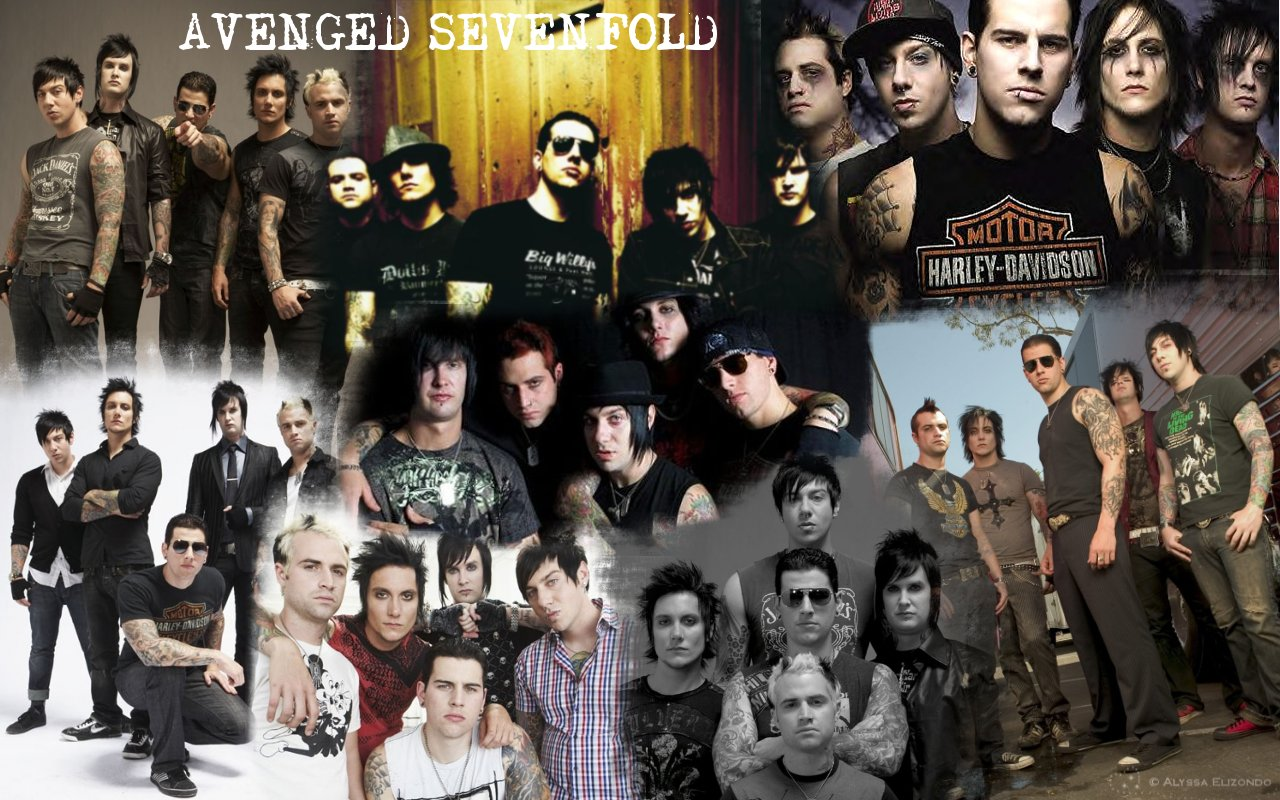 Wallpapers music rock september 2014 avenged sevenfold by alyssa2590 voltagebd Images