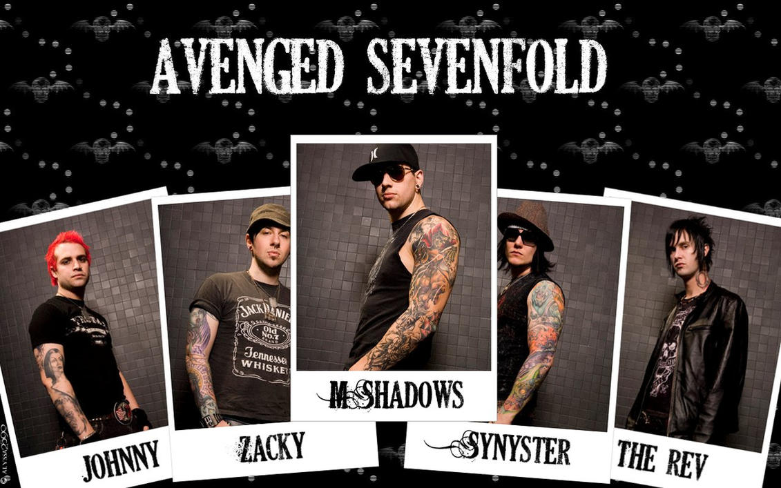 A7X Polaroid Wallpaper By Alyssa2590