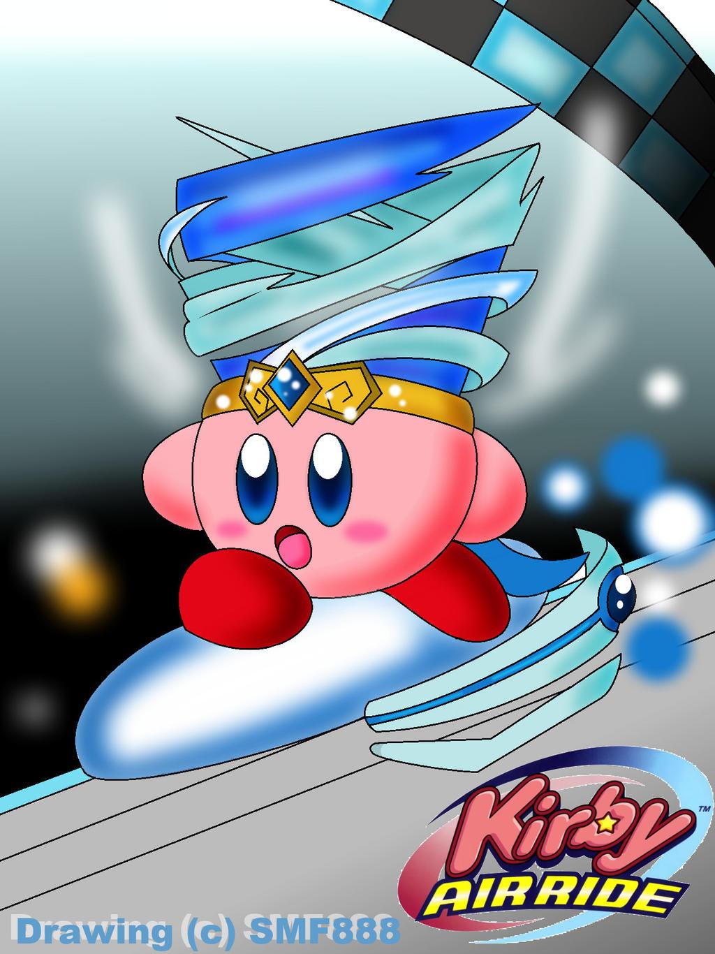 :Kirby: Racing Through by SuperMarioFan888