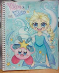 Snow Bowl Kirby and Elsa!!