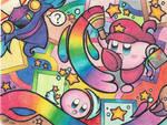 :Kirby: RAINBOW MADNESS!!! by Plucky-Nova