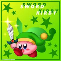 Sword Kirby by Plucky-Nova