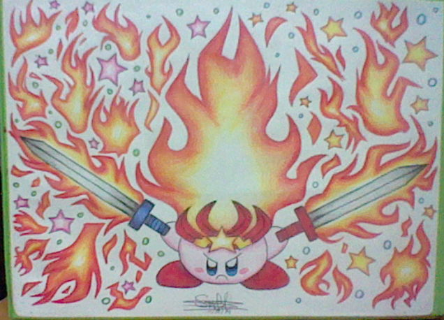 :Kirby: Monster Flame - Blaze through the Night by ...