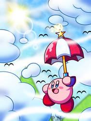 Parasol Kirby - New Year's Breeze