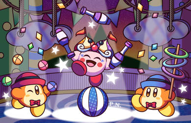 Circus Kirby - Midnight Carnival