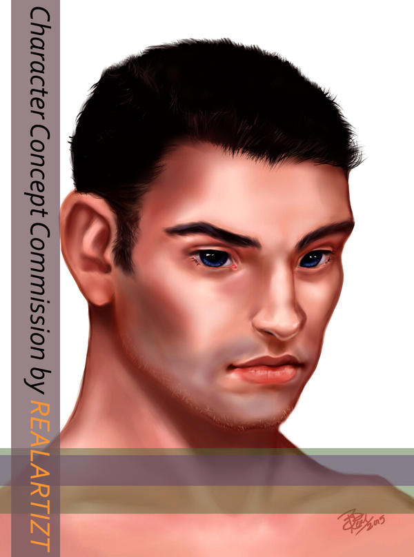 DP - Character Concept Portrait Commission by realARTIZT