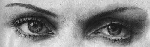 Return of the Pencil: Eyes by tigerzi