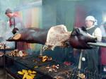 Fully Roasted Pig