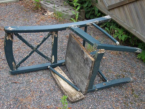 Item 1: Broken Chair
