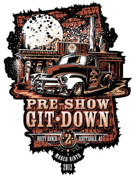 Git Down Poster