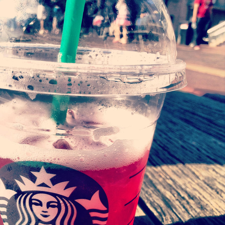 Starbucks Passion Tea with Lemonade by MissPinkSugar