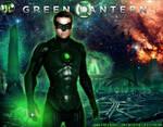 Green Lantern in Oa by Gyaldhart