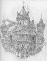 Project TP Architecture Concept art by ledious