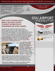 OSU Airport Newsletter Template by ledious