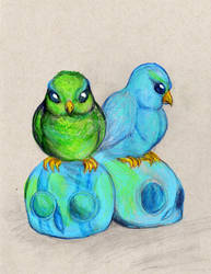 Sweety birds