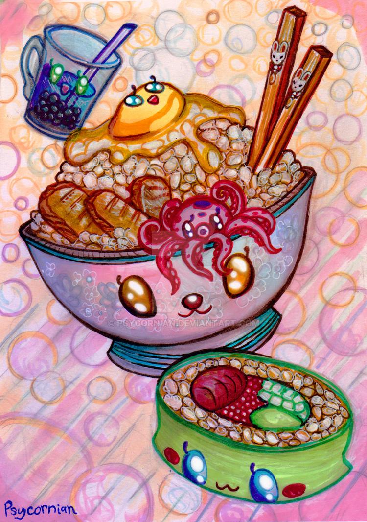 Yummies! by Psycornian