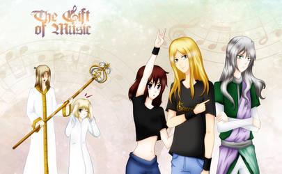 The Gift of Music by AkasunaKage