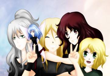Friends by AkasunaKage