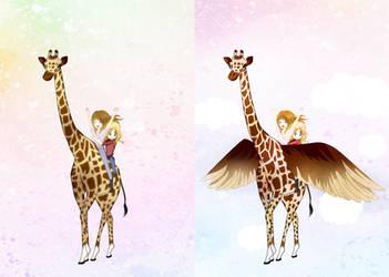 Giraffe by AkasunaKage