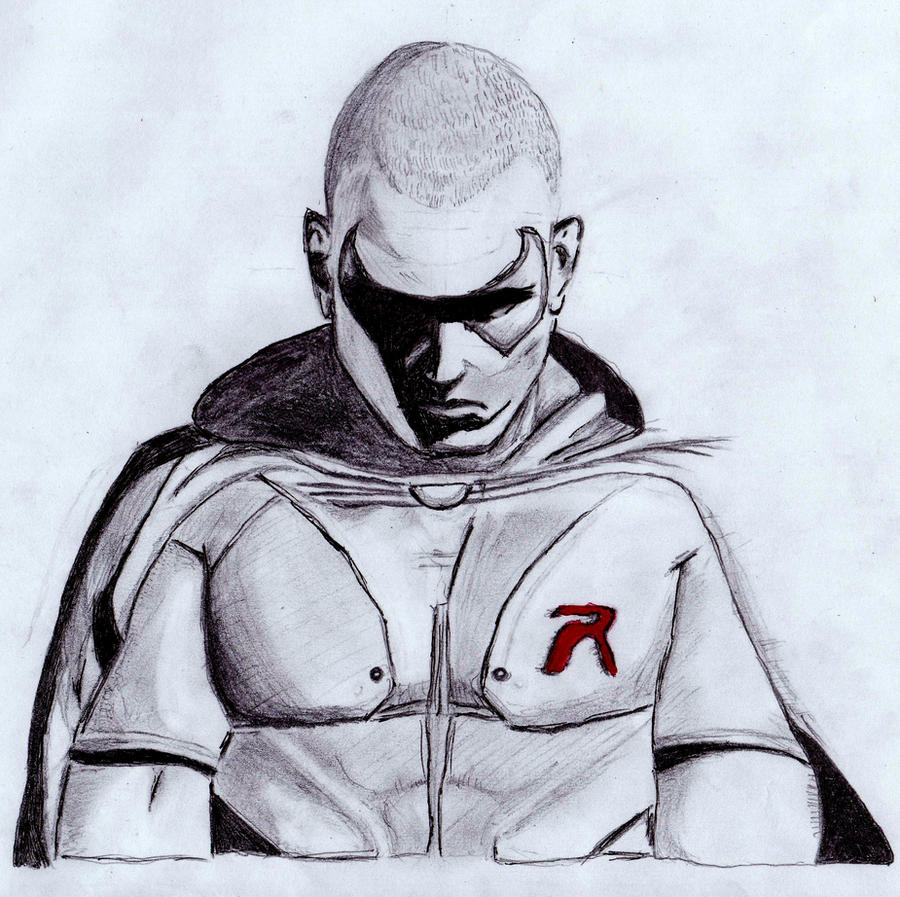 How To Draw Batman Arkham City Robin | www.imgkid.com ...
