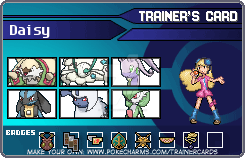 Daisy's Trainer Card by MelloRoxas13