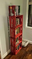 Fallout mancave bookshelf
