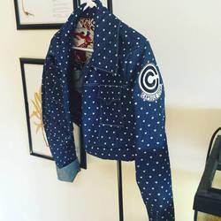 Capsule corp jacket