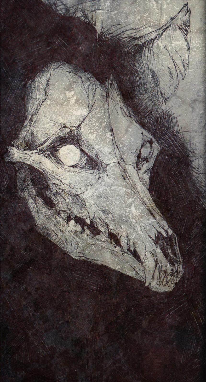 Wolfman by SketchbookNoir