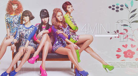 4Minute Poster