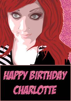 Happy Birthday Charlotte