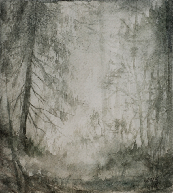 Silent paths - II by usvakorpi
