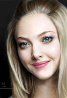 Amanda Seyfried Digital Portrait.
