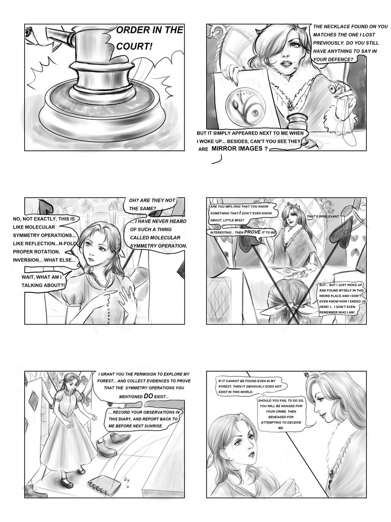 Alice in Chemistryland page 2 by Narual