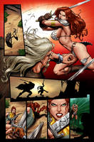 Red Sonja 37 page 19 by wgpencil