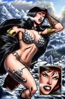 Sonja wrath of the gods by wgpencil