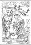 Steampunk vs Lady mecanika