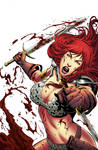 Red Sonja 60 cover color